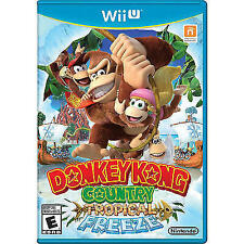 Wii U Donkey Kong Country Tropical Freeze Mint Disc Complete