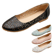 kala Womens Comfy ballet flats lace Ladies shoes Elegant Ballerinas Plus Size