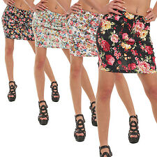 10040 Stretch Fabric Mini skirt skirt available in 5 sizes 4 Colors