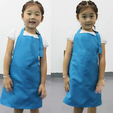 Cute Child's Cooking Apron Chef In Training Novelty Kids Aprons polyester custom