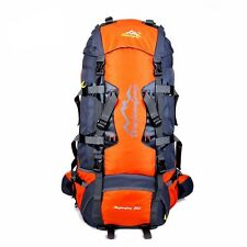 80L Large Waterproof Outdoor Backpack Camping Travel Bag Professional Hiking Bac