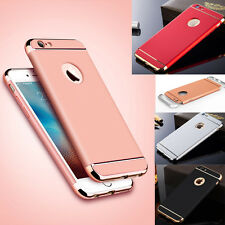 Luxury Hybrid Ultra-thin Electroplate Hard Case Cover For iPhone Samsung Phone