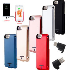5000mAh Portable Power Pack External Battery Charger Case Pack For iPhone 6/6S/7