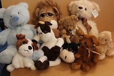 RUSS BERRIE PLUSH TOYS COMFORTER TEDDYS LITTLE PEEPERS MULTI CHOICE YOU CHOOSE
