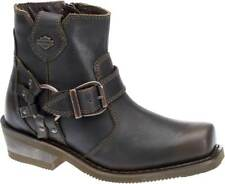 Harley-Davidson Women's Newhall 5.25-Inch Brown Motorcycle Boots D87140
