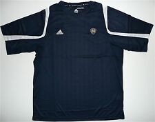 Notre Dame Adidas ClimaCool Training Team Performance Tee Shirt Navy White Small