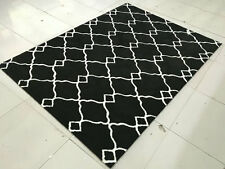 Area Rug Carpet Microfiber Hand Tufted Hand Crafted Quality Rugs 4005