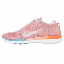 Nike Free TR Flyknit Womens Size Running Shoes Total Orange White 718785 803
