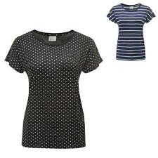 Vero Moda Women's T-Shirt Short Sleeve Shirt Top Basic Printed O-Neck NEW
