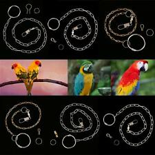 7 Sizes Birds Foot Metal Fission Chain Foot Anklet for Birds Cockatiels Peony