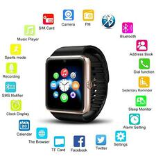 UK Gold GT08 Bluetooth Smart Watch Phone Mate For Phone Andorid Smart Phone Hot