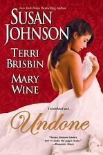 Undone: by Susan Johnson Paperback Book