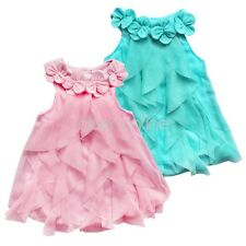 Newborn Baby Girl Dress Tulle Tutu Bodysuit Romper Flower Outfits One-pieces