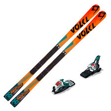 VOLKL Junior Racetiger SW GS R Race SKIS w/ Plate w/ RACE 10 TCX NEW 115842K