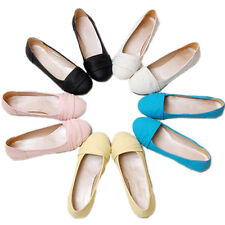 Shoes Korea Casual Retro Loafers Work Chic Ballet Flats AU sz 4 5 6 7 8 9 10