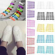 Creative Shark Type Arrow No Tie Shoelaces Silicone Shoe Lace For Sneakers HT
