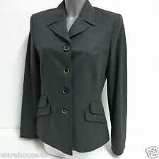 Ladies Business Blazer Jacket Bolero Stefanel OS239D69056 Giacca Flanella