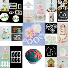 Various Theme Fondant Cake Decorating Plunger Chocolate Cookie Cutter Paste Mold