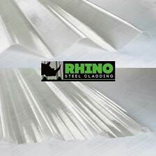 Very Cheap Packs of GRP Fibreglass Rooflights Clear Roofing Sheets / Roof Lights