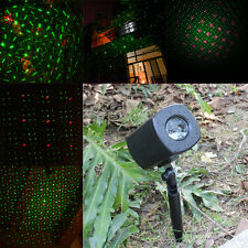 Moving R&G LED Outdoor Landscape Laser Projector Lamp Garden party twinkle Light