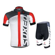 Men Cycling Bike Bicycle Short Sleeves Jersey Mountain Bike Clothing Shirts