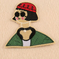 Leon Mathilda Movie Character Embroidered Patch Iron Sew On Appliques