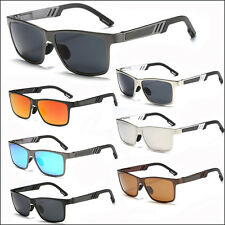 High Quality Polarized Sunglasses Mens Driving Retro Vintage Aluminum Eyewear