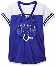 NEW NFL MAJESTIC Team Apparel INDIANAPOLIS COLTS  VNeck Jersey Shirt Womens NWT