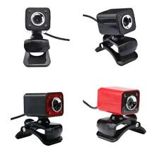 12MP USB Manual Focus Clip-on Rotatable Webcam w/ Microphone Mic for MSN PC