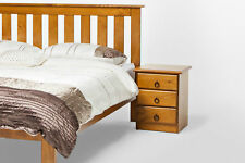 Vegas Solid Pine Timber Single/King Single/Double/Queen Size Bed Frame with Slat