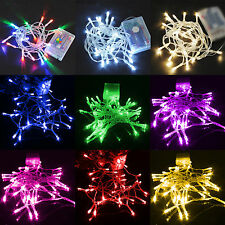 20LED 2M Outdoor Home Garden Fairy Lights Party Decoration Battery Power DIY