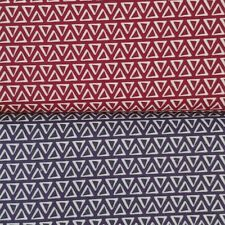 """Geometric triangles 100% quilting cotton background fabric 1 yd x 44""""w FREE SHIP"""