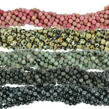 6mm Ethic Round Faceted Loose Beads Natrual Gemstone Beads Fine Jewelry 15''