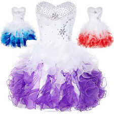 Short Homecoming Prom Dress Formal Prom Bridesmaid Party Ball Gown Dresses Tutu.