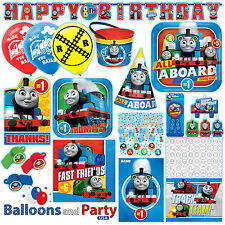 Thomas the Tank Engine Trains Party Tableware Decorations Supplies