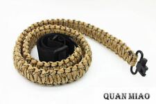 Adjustable Paracord Rifle Gun Sling Strap With Swivels  /  Hunting Accessories
