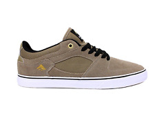 EMERICA HSU LOW VULC SMU TAN WHITE MENS SKATEBOARD SHOES FREE DELIVERY AUSTRALIA