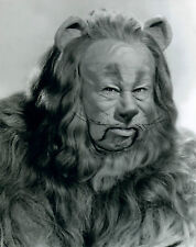 The Wizard of Oz: Bert Lahr, The Cowardly Lion 8x10 Black & White Photo