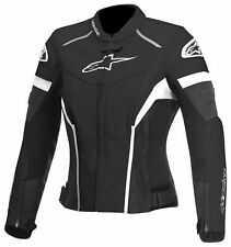 Alpinestars Stella 4W GP+R Perforated Leather Jacket Black and White