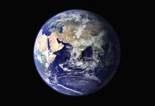 Planet Earth From Space - Space Poster Print - Space Photo - NASA Photo - Planet