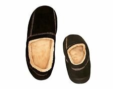 *FREE 2-DAY* Suede Memory Foam Slippers Pajamas Robe Home Men's Sizes 7-12