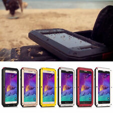 Aluminum Shockproof Waterproof Metal Hybrid Durable Cover Case For Samsung Model