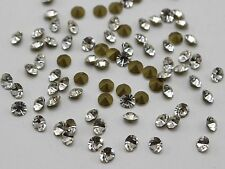 Clear White SS6-SS16 Point back Rhinestones Gems Glass Chatons Strass Nail Art