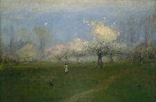 "George Inness: ""Spring Blossoms, Montclair, NJ"" (c.1891) — Giclee Fine Art Print"