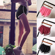 Plus Size Women Girl's Sport YOGA Gym Running Shorts Casual Jogging Pants.cc