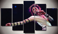 Framed Home Decor Canvas Print Painting Wall Art Michael Jackson Concert Poster