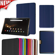 Folio Stand Magnetic Leather Case Cover Skin For Acer Iconia Tab 10 A3-A40 10.1""