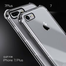 For Apple iPhone 7 Case Crystal Clear Hybrid Slim Shockproof Soft TPU Back Cover
