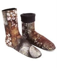 OMER 1.5mm CAMU 3D Camouflage Double Lined Scuba Socks Booties for Spearfishing