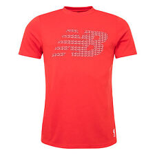 Liverpool FC  New Balance Mens Red Tech Training Visaro Graphic Jersey Official